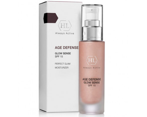 AGE DEFENSE Glow Sense SPF 15 Perfect Glam Moisturizer 50ml